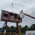 Scoreboard Electrical work